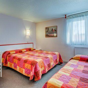 Chambre triple-hote riom puy de dome-hotel vulcani
